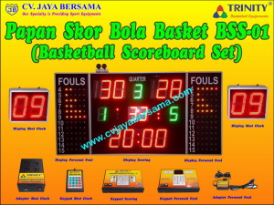 Basketball Scoreboard Set BSS-01