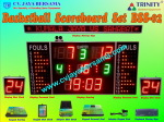Basketball Scoreboard Set BSS-02