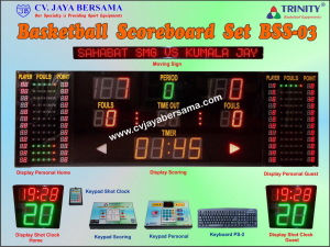 Basketball Scoreboard Set BSS-03