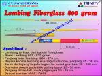Lempar Lembing Fiberglass Pria 800 gram