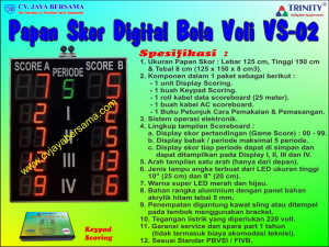 Volleyball Scoreboard VS-02